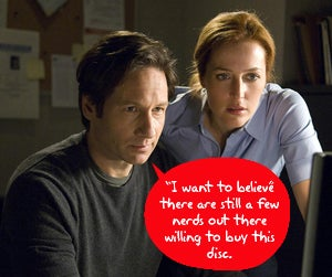 Illustration for article titled X-Files to Become First Fox Blu-ray Release With BD-Live