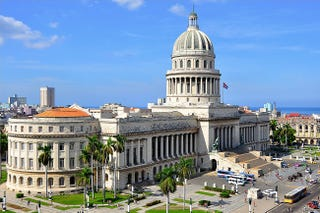 The Cuba State Capitol (El Capitolio) in Havana in 2009 (Nigel Pacquette, Wikimedia Commons)