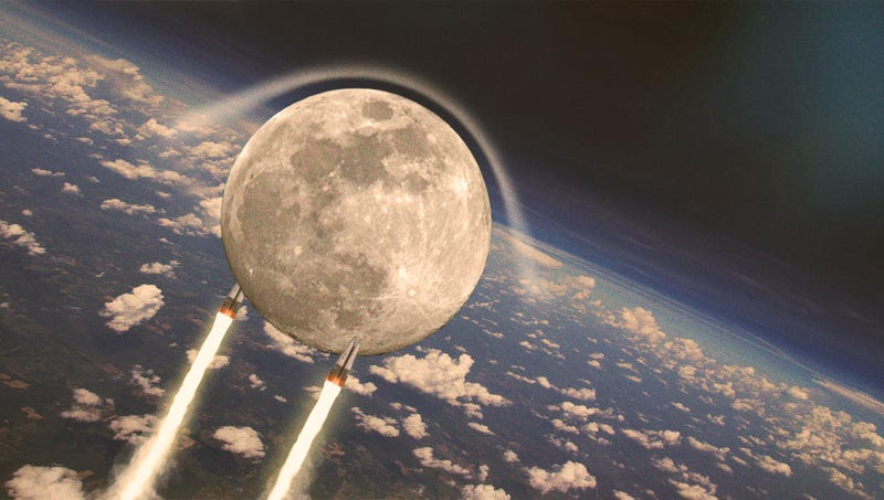 Illustration for article titled NASA Celebrates 60th Anniversary Of Launching First Moon To Orbit Earth