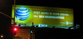 Illustration for article titled NSA Gets the Best AT&T Coverage Around