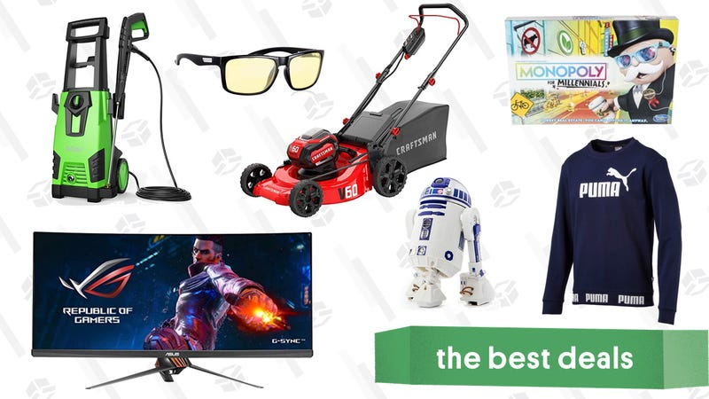 Illustration for article titled Thursday's Best Deals: Anker Electric Lawn Tools, Monopoly for Millennials, Instant Pot, and More