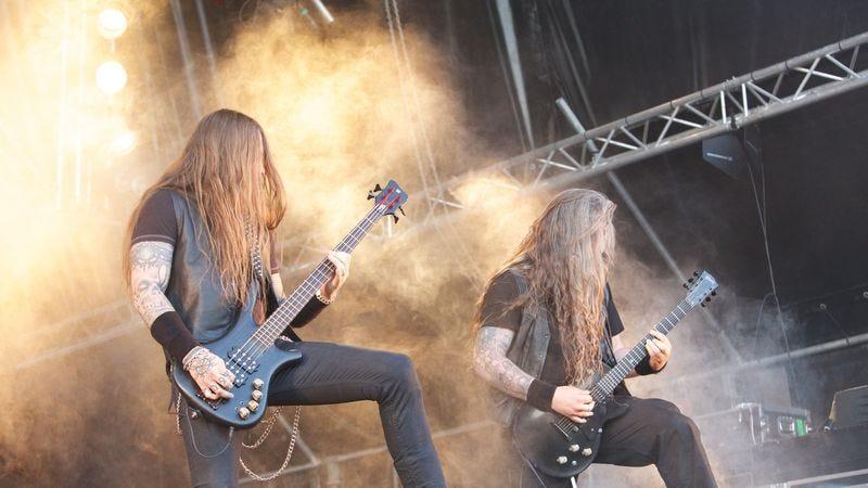 Naglfar, one of many Swedish black metal bands. (Photo: Ragnar Singsaas/Getty)