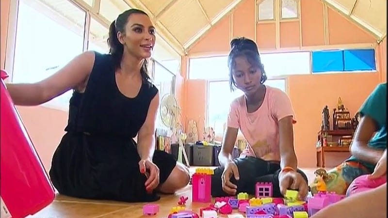 Illustration for article titled The 'Orphan' Kim Kardashian Tried to Adopt Has Politely Declined