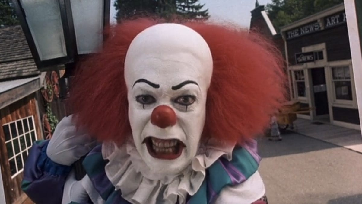 The 13 Scariest Evil Movie Clowns So Far