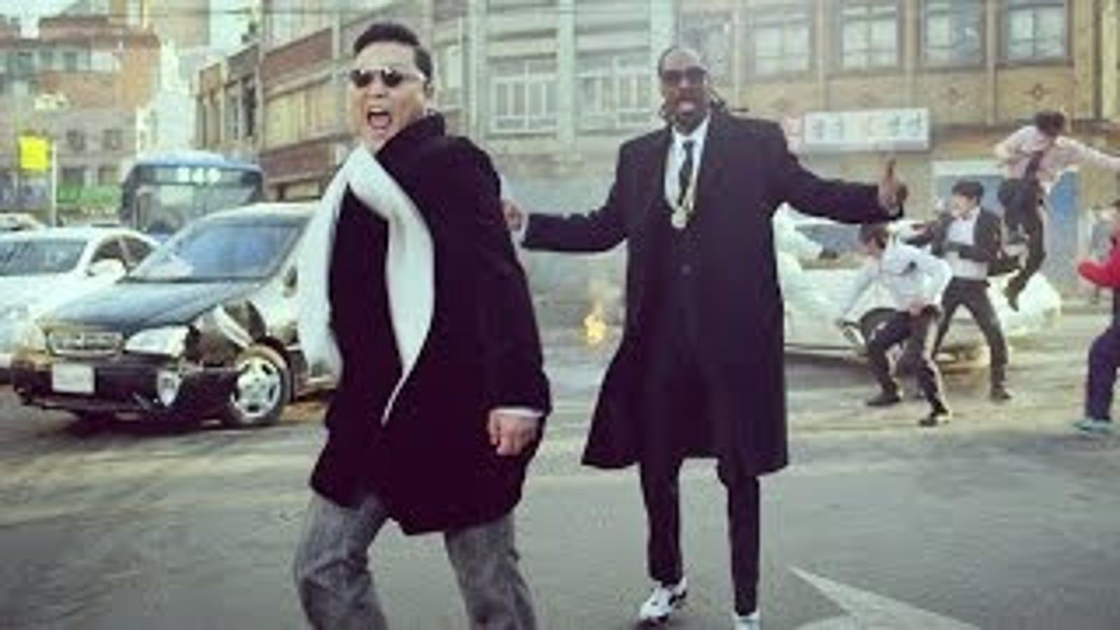PSY y Snoop Dog arrasan en YouTube con su último tema