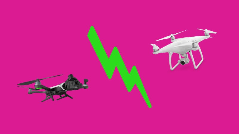 Illustration for article titled We Crashed a Few Drones to Find the Best Folding Drone