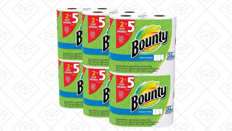 Bounty Select-A-Size Paper Towels, $22 after $2 coupon