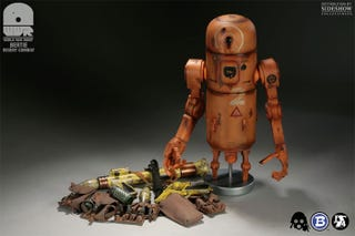 Illustration for article titled It's Bertie, the Pipebomb Robot Toy