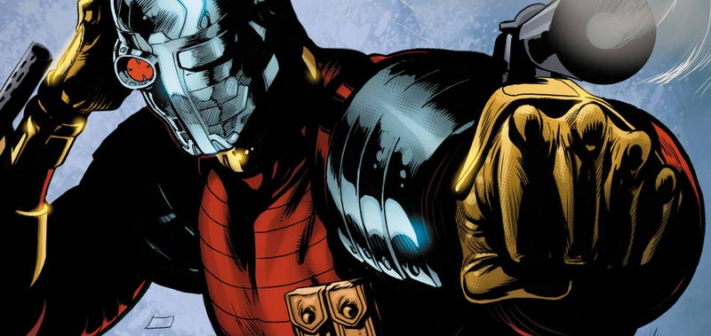 Illustration for article titled Primeras imágenes de Will Smith como Deadshot en Suicide Squad