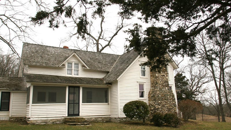 The Missouri home where Laura Ingalls Wilder wrote most of her books.