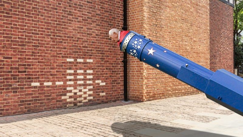 Illustration for article titled 'I Look Forward To Ending My Life,' Says Assisted Suicide Advocate Before Being Shot Out Of Cannon At Brick Wall