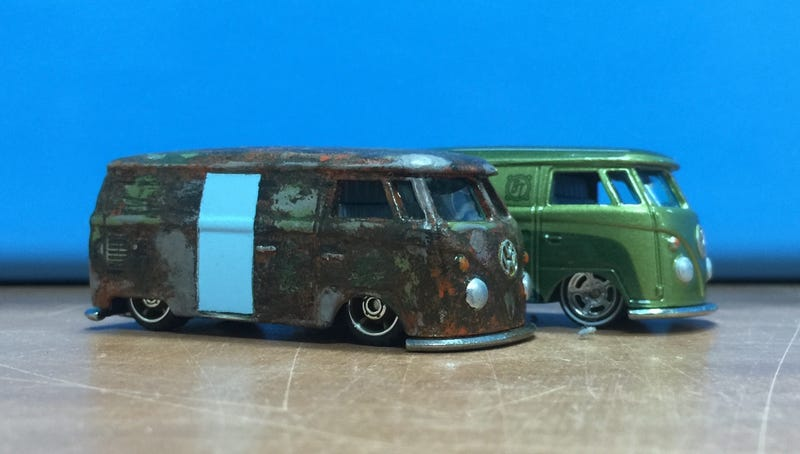 Illustration for article titled [Custom] Kombi Van with added Patina