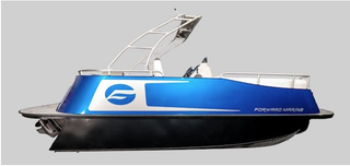 Illustration for article titled electric boat from GM Marine