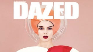 Illustration for article titled Kendall Jenner Channels '60s Space Queens on New Dazed Cover