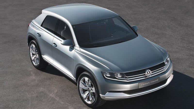 Illustration for article titled Volkswagen Cross Coupé: VW builds an Evoque