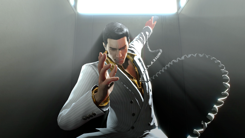 Illustration for article titled Yakuza 0 Demonstrates How To Answer The Phone