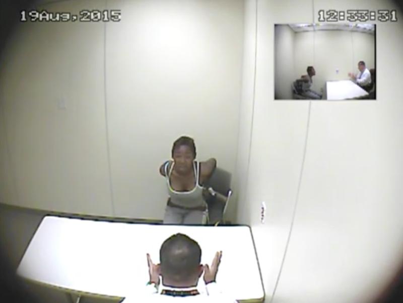 Interrogation video with Desiray StricklandScreenshot