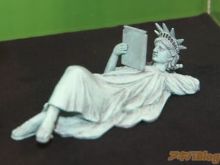 Illustration for article titled The Statue of Liberty, Doing Whatever The Hell She Pleases