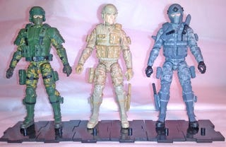 Illustration for article titled GI Joe Figures For Grown-Ups