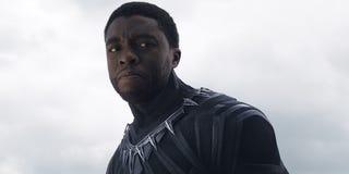 Chadwick Boseman as Black PantherMarvel