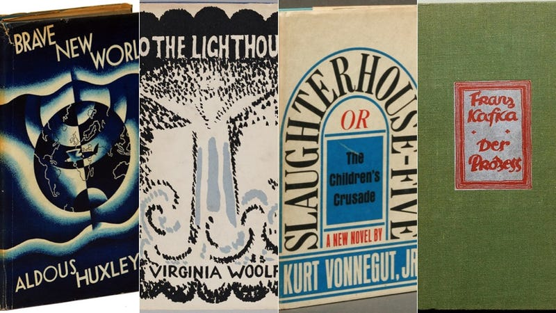 Illustration for article titled Check Out The First-Edition Covers Of Some Of The Greatest Novels Of All Time