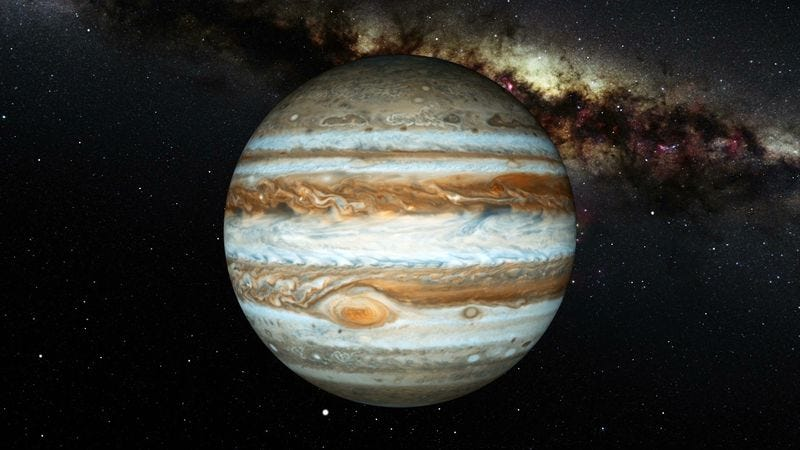 Illustration for article titled One Giant Leap: NASA Is Funneling All Its Resources Into Writing A Theme Song For Jupiter
