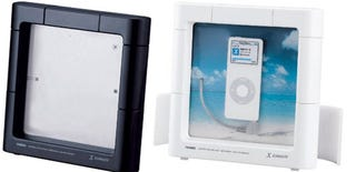 Illustration for article titled XZABADY iPod Dock is Waterproof, Thinks It's a Picture Frame