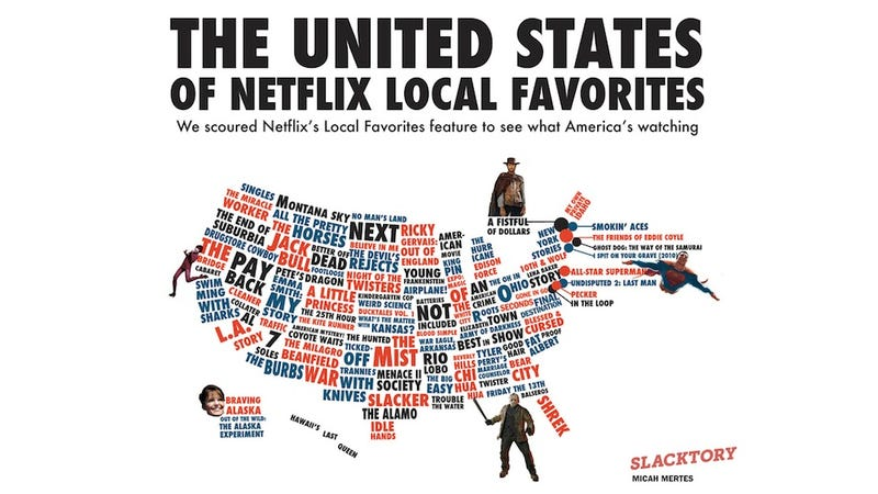 Illustration for article titled What Americans Are Watching on Netflix, Visualized