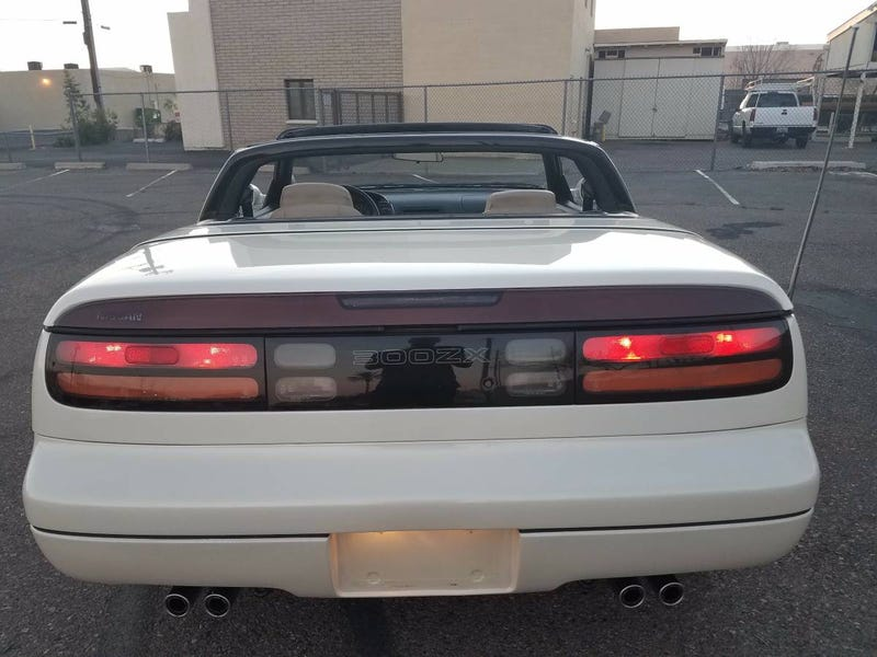 for $6,988, could this 1994 nissan 300zx convertible make you a zxy beast?