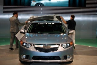 Illustration for article titled 2011 Acura TSX: Live Photos