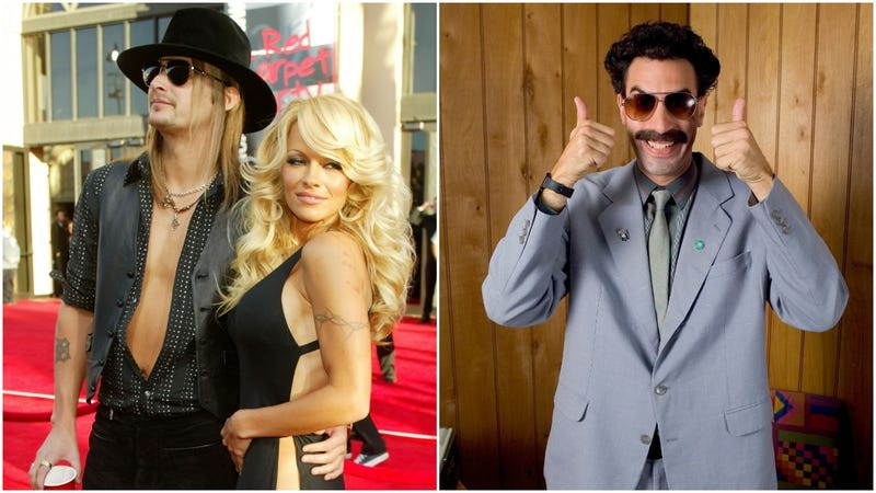 Illustration for article titled Kid Rock apparently divorced Pamela Anderson because of Borat