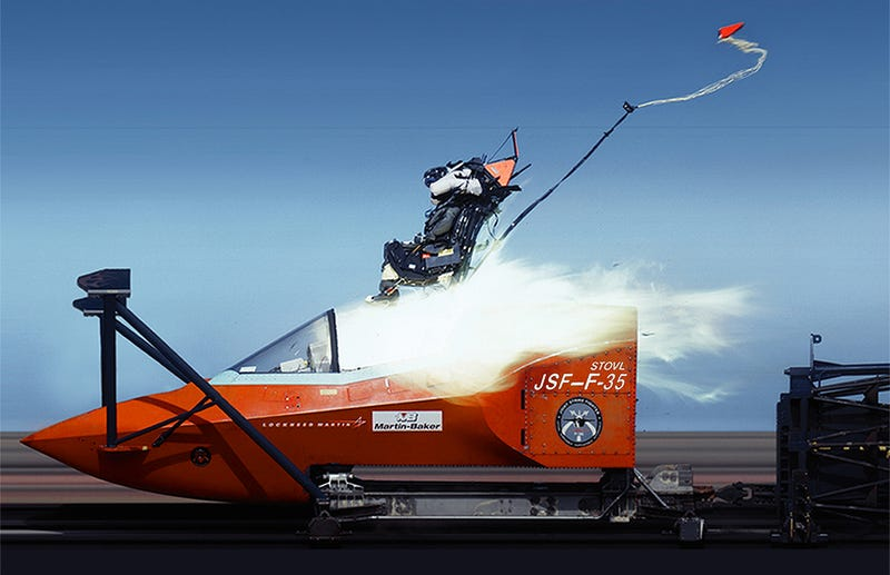 Illustration for article titled Now The F-35 Has An Ejection Seat Problem