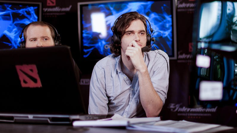 Illustration for article titled Fired Dota 2 Commentator On Why Valve Dropped Him