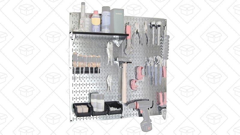 Stainless Steel Pegboard Set | $53 | Amazon Graphic: Shep McAllister