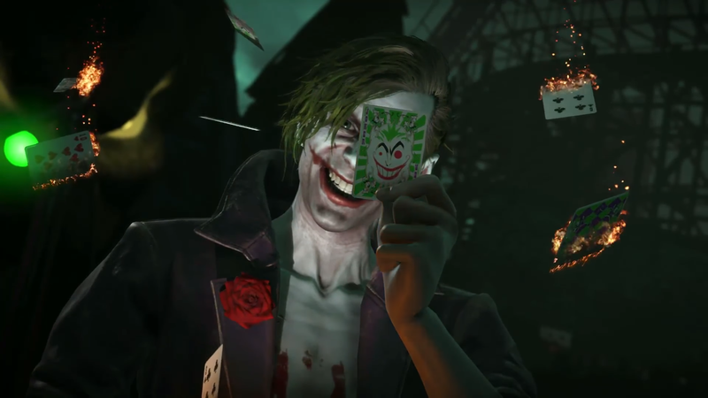 Illustration for article titled Injustice 2 Pro Proves The Game's Lightly-Regarded Joker Actually Is A Threat
