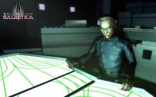 Illustration for article titled Adama Goes Digital In Battlestar Galactica Online