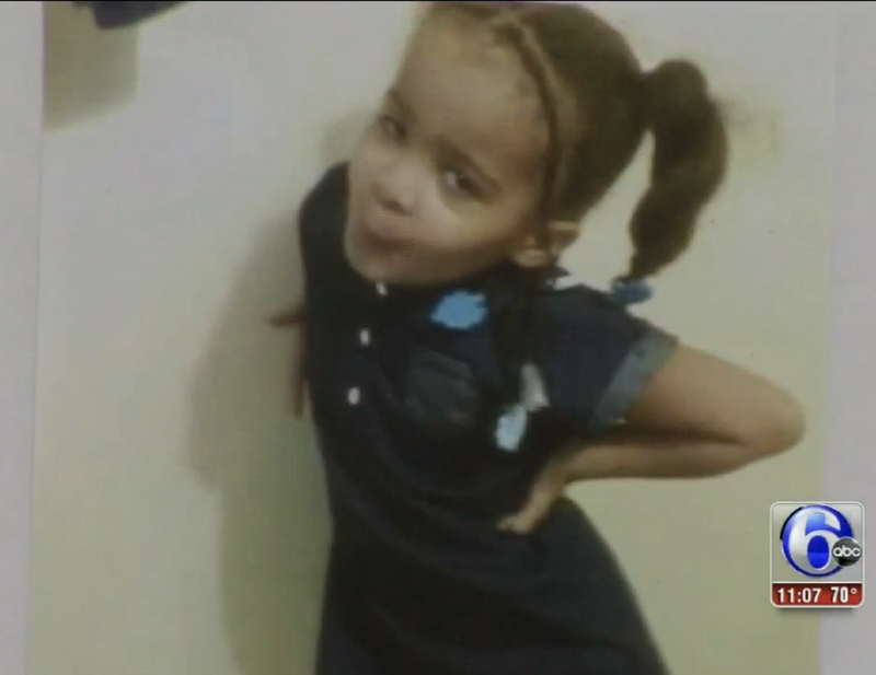 Little girl killed in North Philadelphia after shooting herself with a gun.ABC 6 Philadelphia screenshot