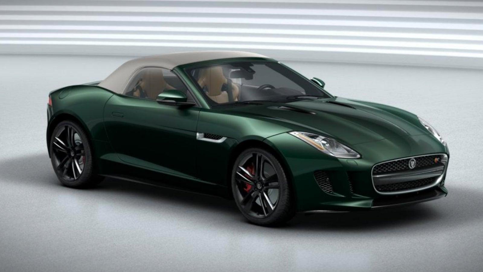 jaguar f type green - photo #44