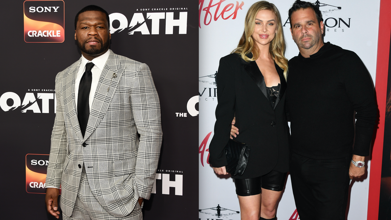 Illustration for article titled Crisis Averted: 50 Cent, Vanderpump Rules' LaLa Kent, and Her Fiancé Randall Emmett Have Made Up