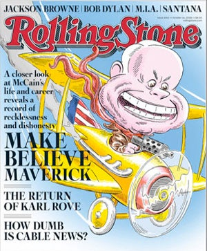 Illustration for article titled Rolling Stone Is Chock Full Of Fresh New McCain Insults