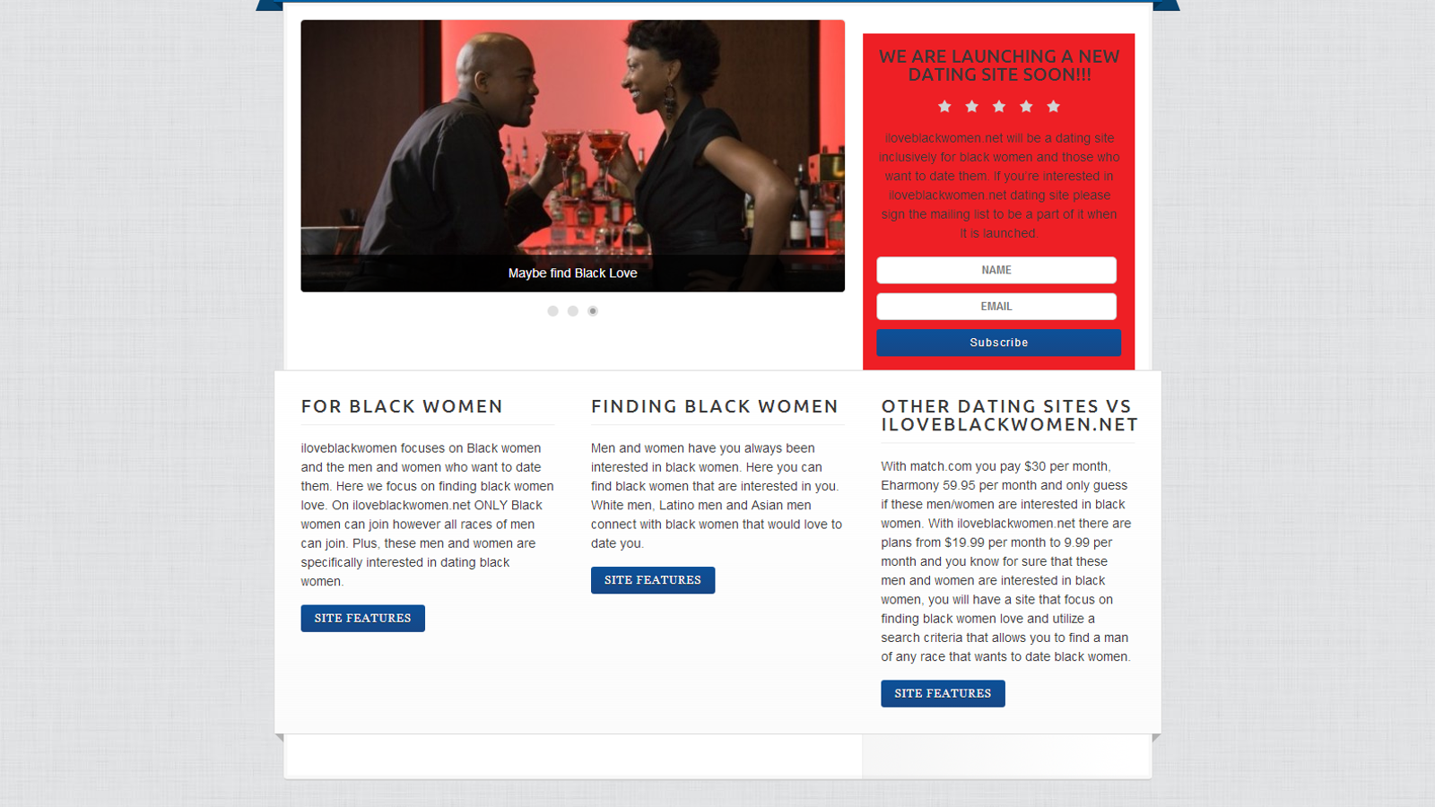 garnerville black women dating site Date black men & asian women blasian luv forever™ is the #1 bmaw dating website on the planet bmaw dating: quality matches for friendship & marriage.