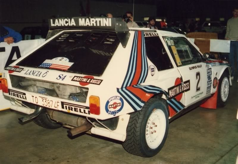 Illustration for article titled Lancia Delta S4, going through scrutineering for the very last time
