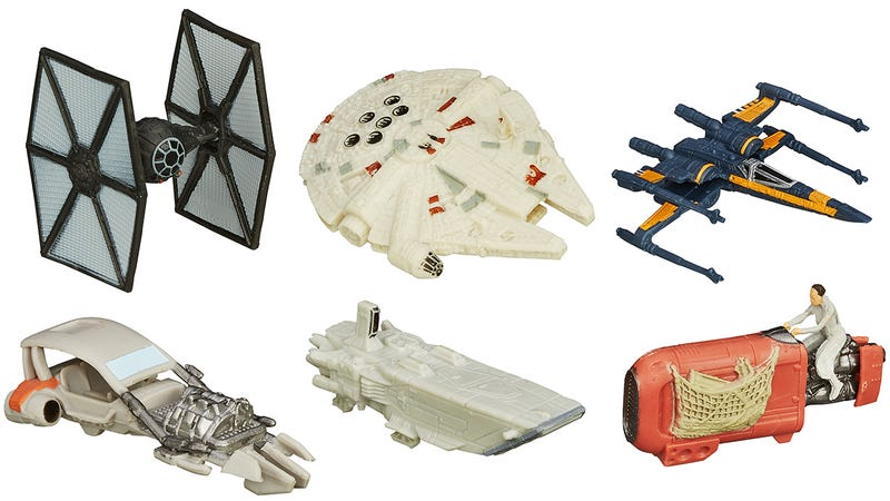 Illustration for article titled The Return of Star Wars Also Heralds the Return of Micro Machines