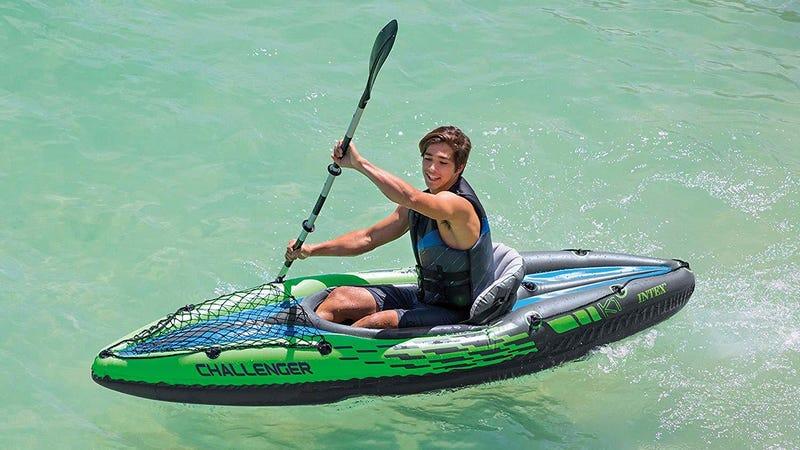 Intex Challenger K1 Inflatable Kayak | $60 | WalmartIntex Explorer K2 Inflatable Kayak | $65 | Walmart