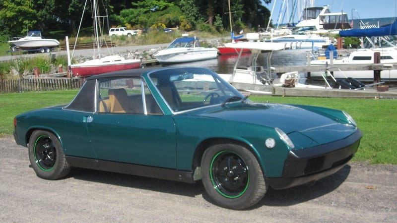 Illustration for article titled This 1975 Porsche 914 Has A Big Motor And A $5,500 Price Tag