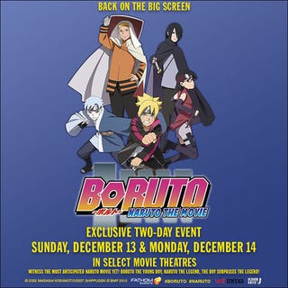 Illustration for article titled Boruto: Naruto the Movie will reach to North American Theaters...Again