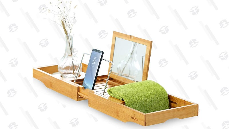 Mosa Bamboo Expandable Bath Tray | $25 | Amazon | Promo code OJTS4EC4