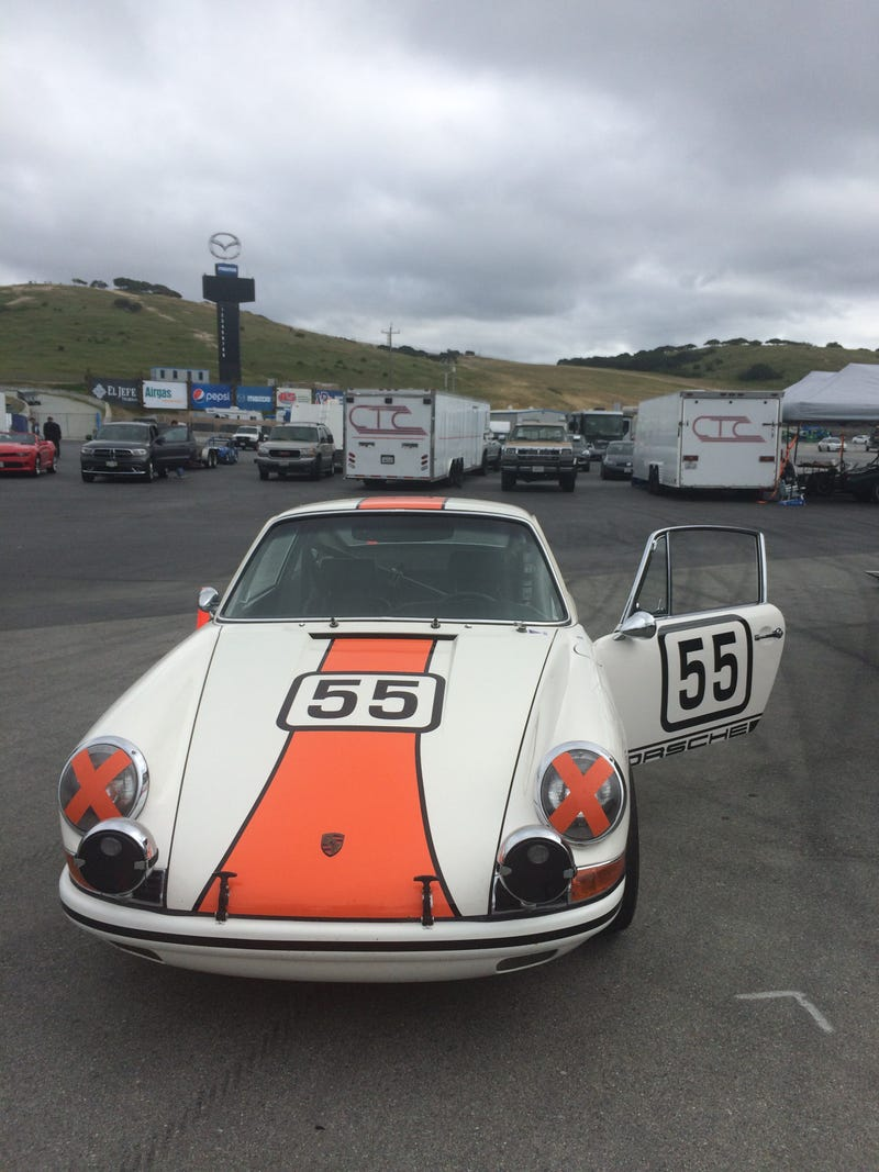 Illustration for article titled Saw some cool cars at the track today..