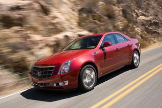 Illustration for article titled MT names Cadillac CTS Car of the Year, Needs Help Paying For Gas