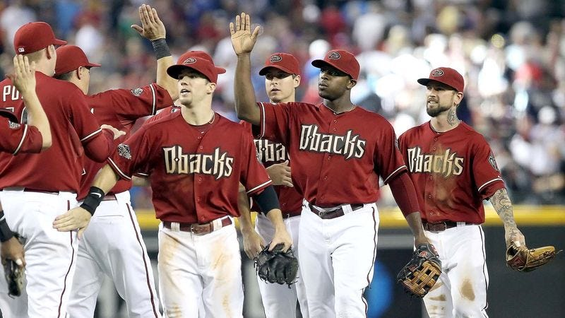 Illustration for article titled Report: Diamondbacks Are Definitely In The Playoffs